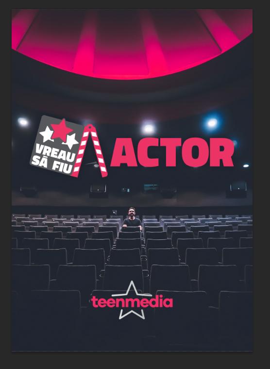 poster Vreau sa fiu actor